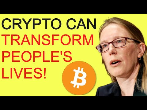 """BITCOIN & CRYPTO Market Can """"Transform People's Lives"""" Says SEC's Cryptomom"""