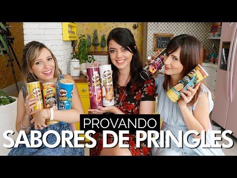 Sabores diferentes de Pringles | Taci Alcolea, Dani Noce e Lia Camargo