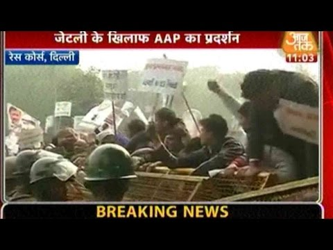 DDCA Row: AAP Escalates Protest Against FM...