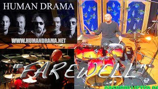 """STUDIO SESSIONS #8 """"FAREWELL""""  by HUMAN DRAMA (Drum Recording)"""