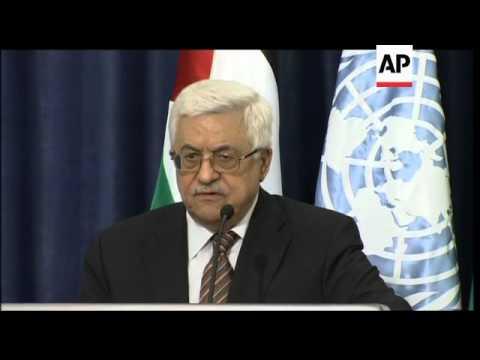 +4:3 UN Sec Gen Ban Ki-Moon meets Abbas and Peres