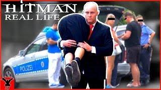 HITMAN in Real Life [Public Pranks]