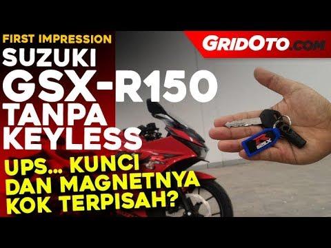 Suzuki GSX-R150 Tanpa Keyless l First Impression Review l GridOto