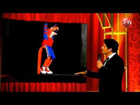 El Lagarto Murdock en su Primera Presentacion en el Rey del Show