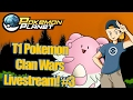 Pokemon Planet - T1 Clan Wars Livestream! #3