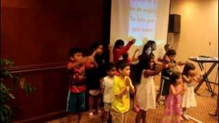 SAIF-Church Camp 2012. Kids Action Song - Nothing, Absolutely Nothing