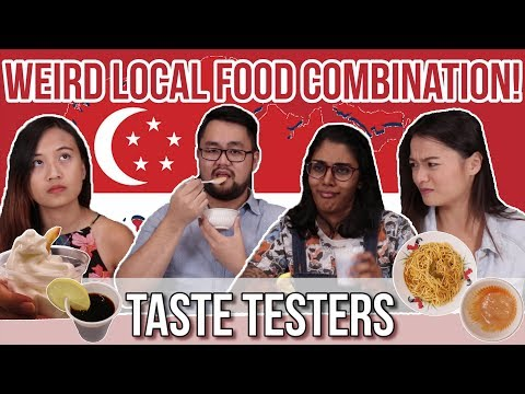 WEIRD LOCAL FOOD COMBINATIONS | Taste Testers | EP 27