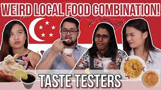 Weird Local Food Combination   Taste Testers   EP 27