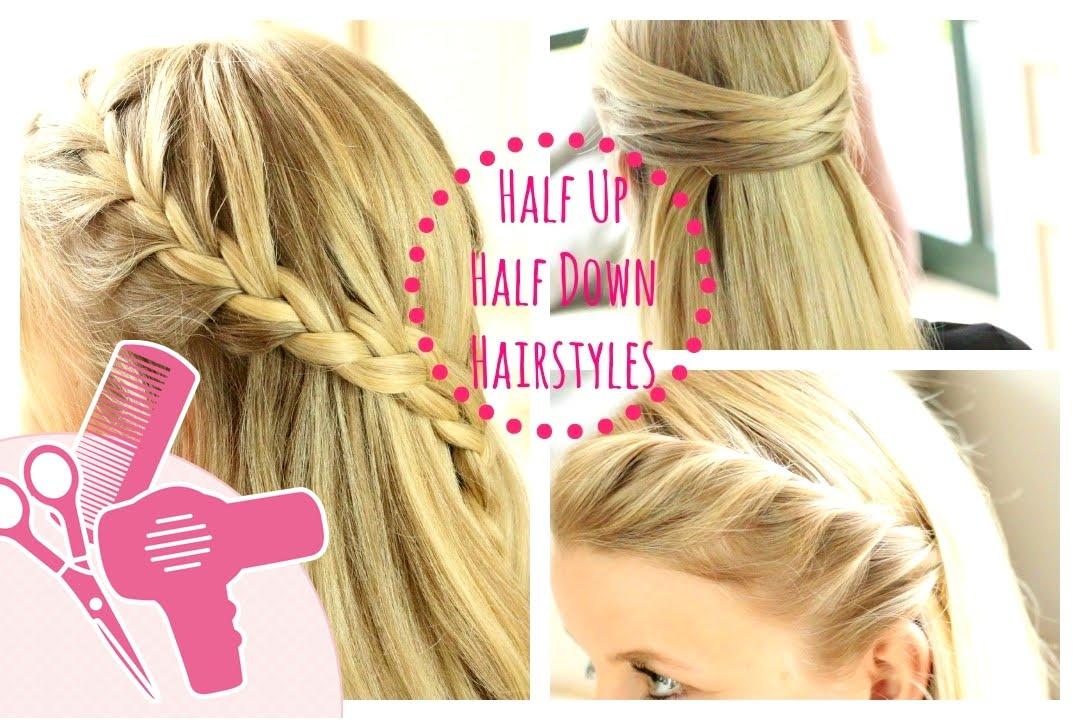 3 easy half up half down frisuren hairbst jessyinseptember