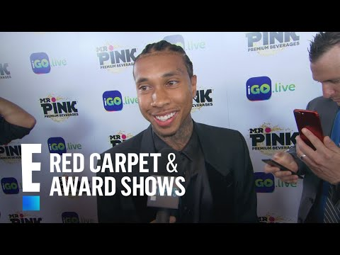 Tyga Hits I.Go Live App Launch Event Solo   E! Live from the Red Carpet