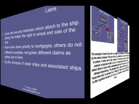 Shipping finance - differences from other forms of finance - part 2