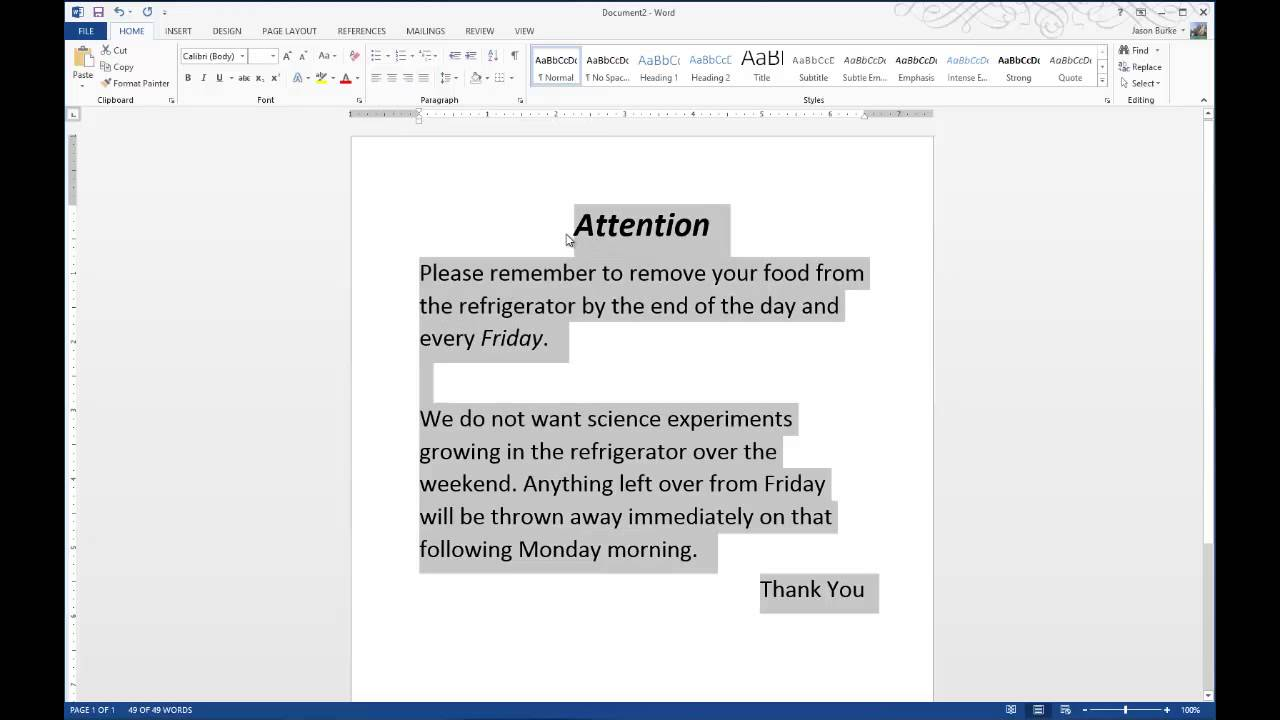 How to Adjust the Vertical Alignment of Microsoft Word ...