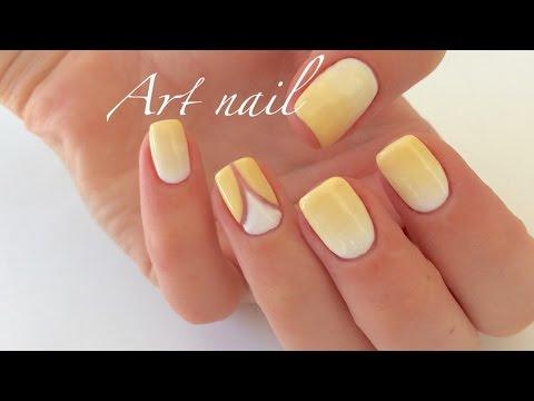 Видео Маникюр со стразами на короткие ногти