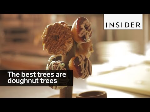 The best trees are doughnut trees