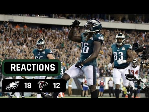 Philadelphia Eagles vs Atlanta Falcons Week 1 Thursday Night Football Recap | FALCONS BLOW IT AGAIN!
