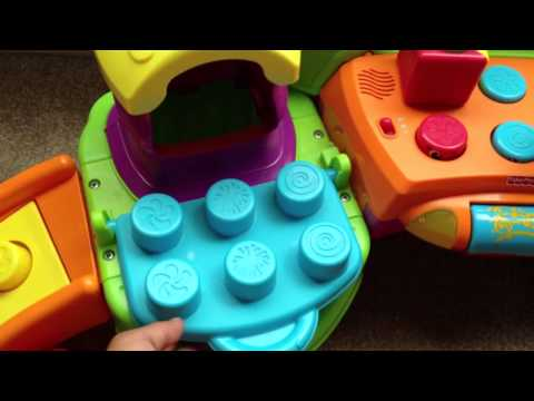 Fisher-Price Stack 'n Surprise Blocks Songs 'n Smiles Silly