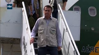 Brazil: Bolsonaro arrives at the area of the dam collapse