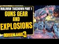 The BEST Guns for the Maliwan Takedown and Wotan Borderlands 3 Guns Gear and EXPLOSIONS!
