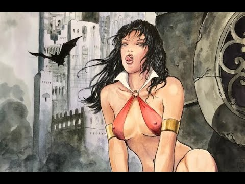 Milo Manara Comic Book Cover Collection