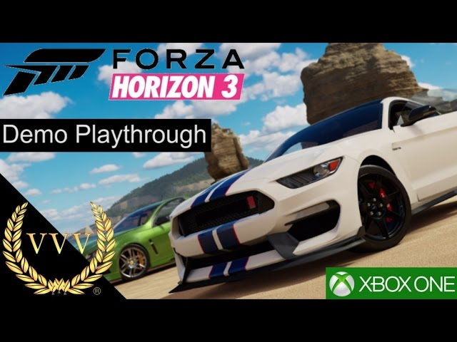 Forza Horizon 3 Xbox One Demo Playthrough