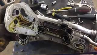 Устранение течи теплообменника Opel Chevrolet GM [PG]