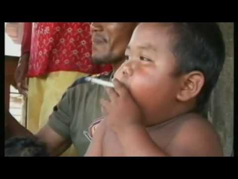 umur 2 tahun merokok 40 per hari.