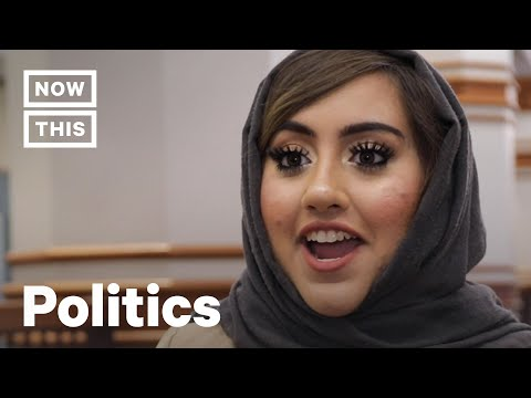 Bushra Amiwala Is One of The Youngest Muslim Elected Officials | NowThis