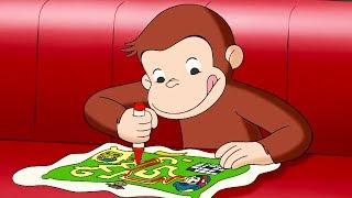 Curious George 🐵The Amazing Maze Race 🐵Kids Cartoon 🐵 Kids Movies 🐵Videos for Kids