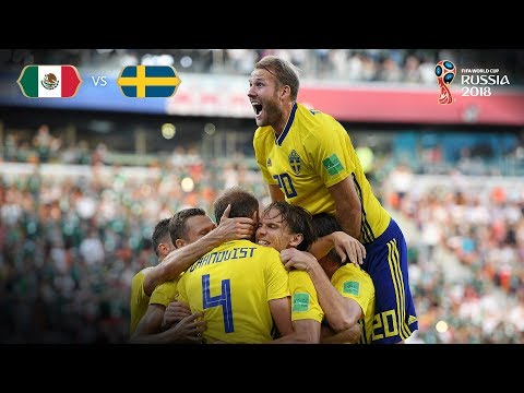 Sweden Goal 3 v Mexico - MATCH 44