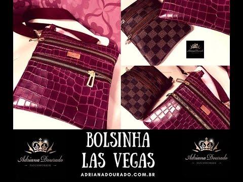 Bolsinha Las Vegas, Tutorial Bag Las Vegas by Adriana Dourado - DIVA DA COSTURA