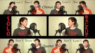 The Lion Sleeps Tonight - Straight No Chaser Version One Man Acappella Multitrack- Rhett Roberts
