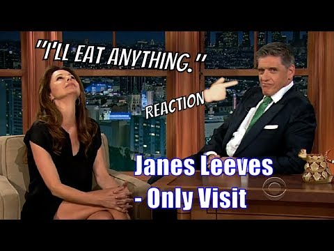 Jane Leeves - They Kissed, For Real - Her Only Appearance