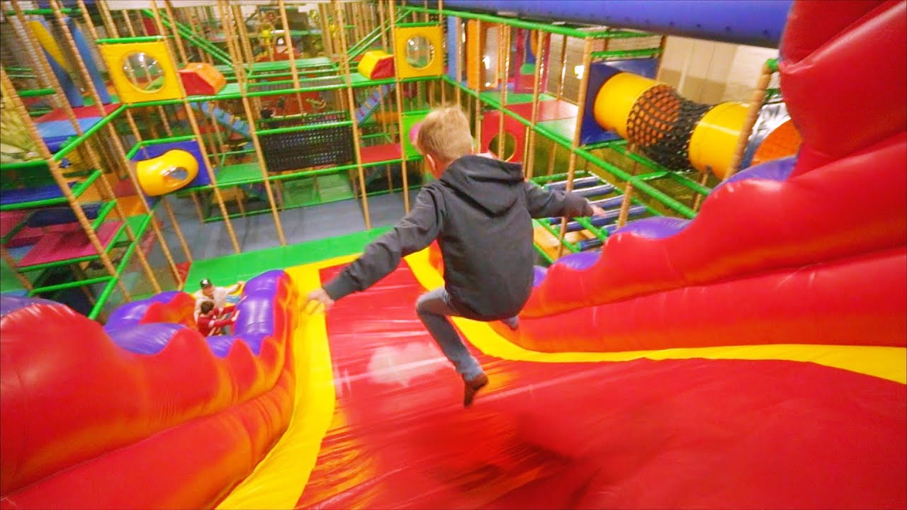 fun indoor playground for kids at lek amp buslandet family