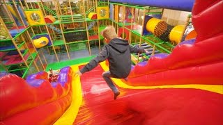 Fun Indoor Playground for Kids at Lek & Buslandet (family fun for kids)