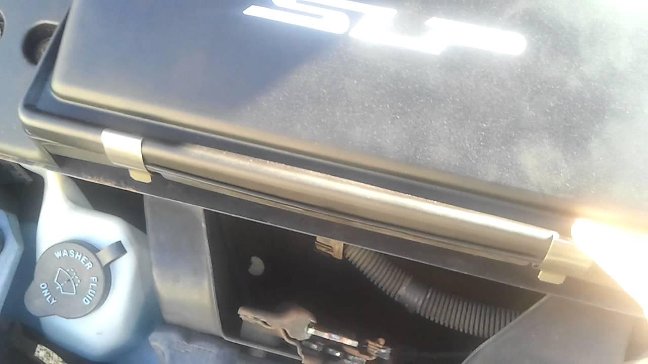 V6 Firebird intake conversion from V8 SLP lid