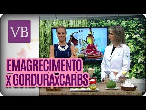 Gordura X Carboidrato X Emagrecimento - Você Bonita (14/06/16)