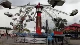 Hurricane Ride at the 158th Van Wert County Fair.