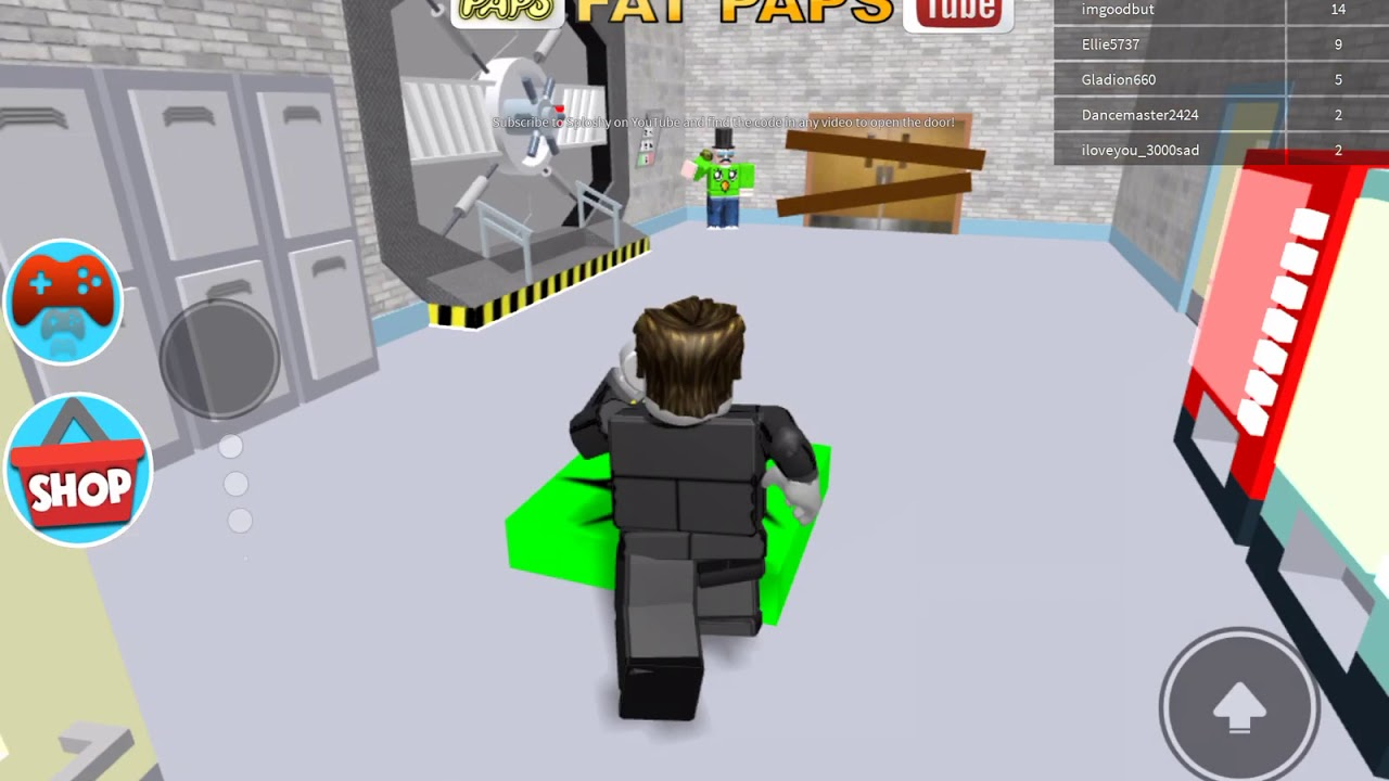 Roblox Escape School Code Sploshy Secret Code Roblox For Escape School Obby Read Description Youtube