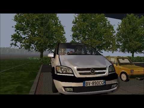 Opel Zafira 2.0 dti drive Polish Roads 2a new editon by me (Links) - Racer: free game