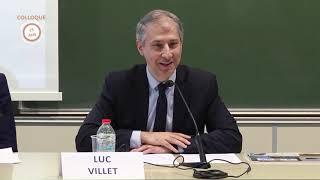 """03/10 Colloque CRJP """"De la gestion du patrimoine à l'ingénierie du patrimoine"""" : Luc Villet"""