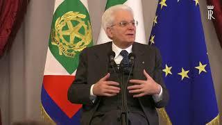 Il Presidente Mattarella incontra alcune scolaresche delle Scuole secondarie di secondo grado
