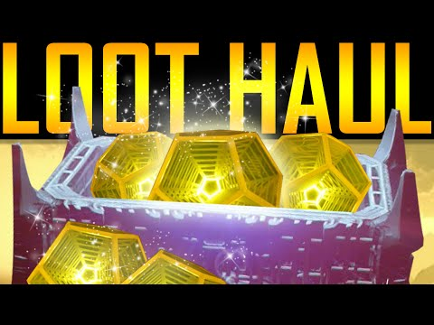 Destiny - EPIC LOOT HAUL!