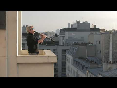 Clarinette au balcon (par Pascal Moragues) - Mozart