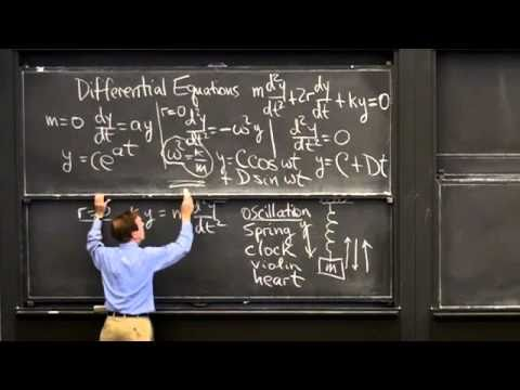 mit opencourseware calculus strang The mission of mit is to advance knowledge and educate students in science, technology and other areas of scholarship that will best serve the nation and the world in.