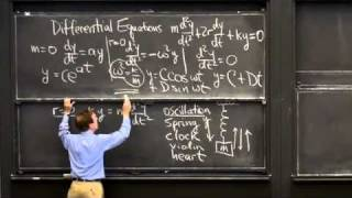 Differential Equations of Motion | MIT Highlights of Calculus
