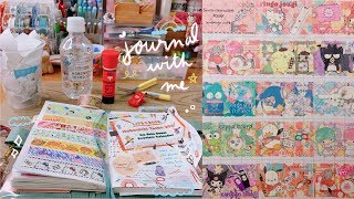 Journal With Me | Stationery Cafe x SANRIO & Hobonichi Techo 2020 Lineup (3 pages!) | Rainbowholic
