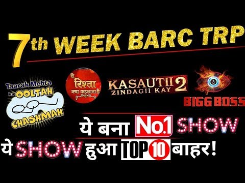 BARC TV TRP Of 7thWEEK  : Check Out Which Show Became No. 1