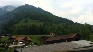 Switzerland EuroRail. The magnificent Alps