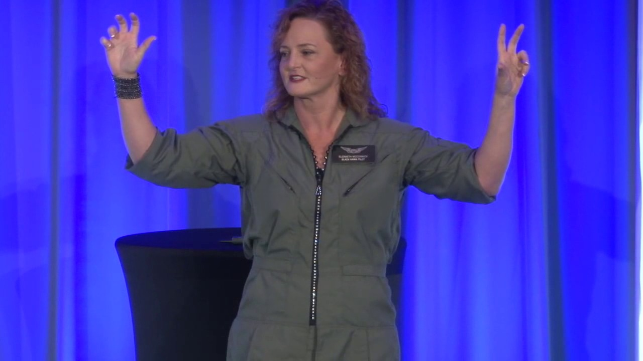 Elizabeth McCormick becoming a Helicopter Pilot Keynote Speaker ...