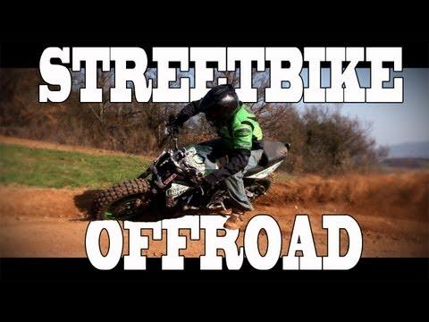 Extreme Triumph Street Triple Offroad - Julien Welsch - StreetBike Motocross